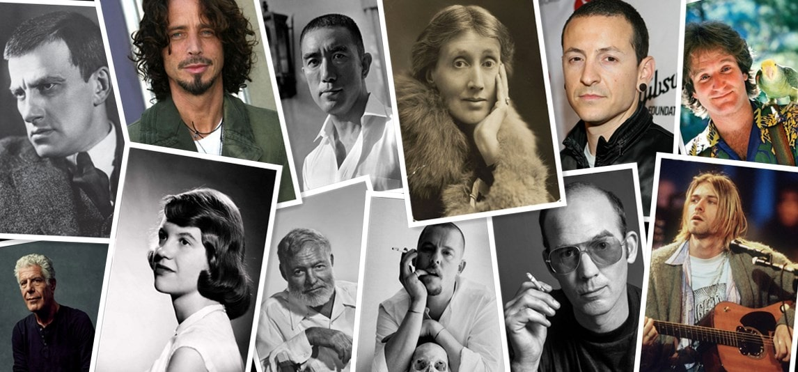 famous people who committed suicide