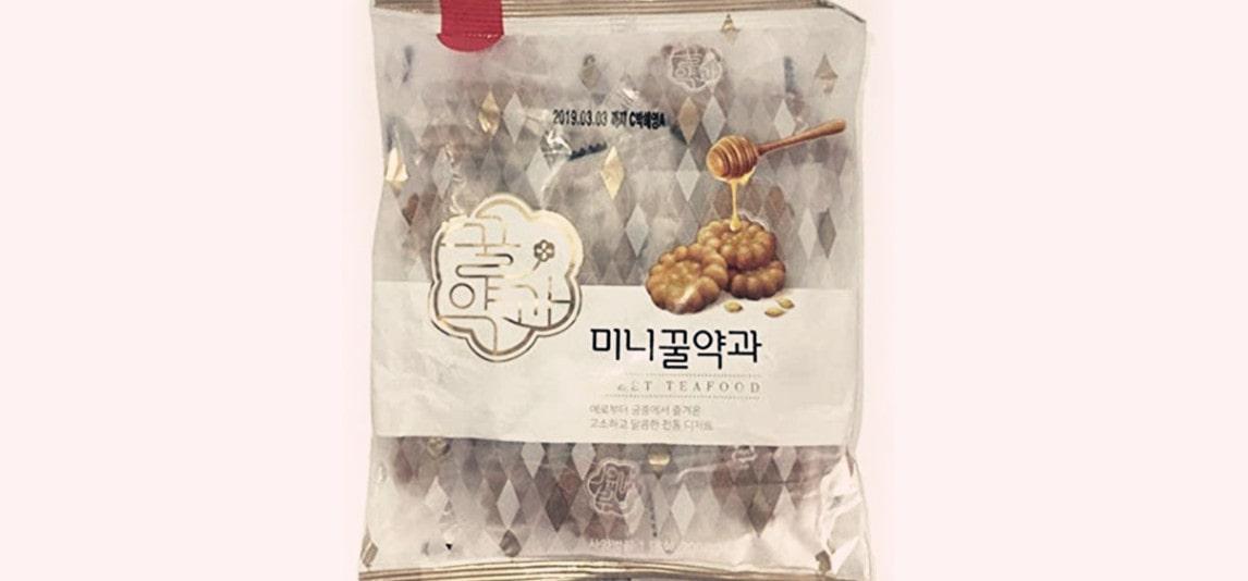 Korean Honey Cookies