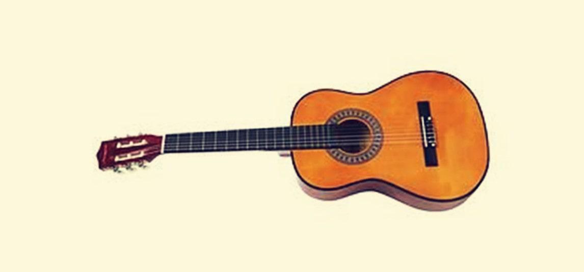 Three Quarter-Size Guitar
