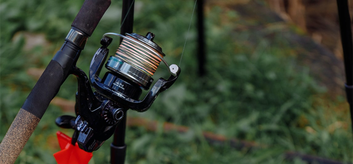 how to put lines on a reel