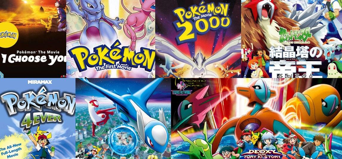 pokemon movies in order