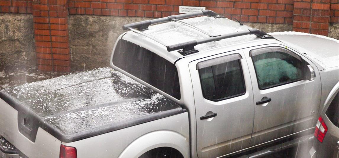 protecting car in hail season