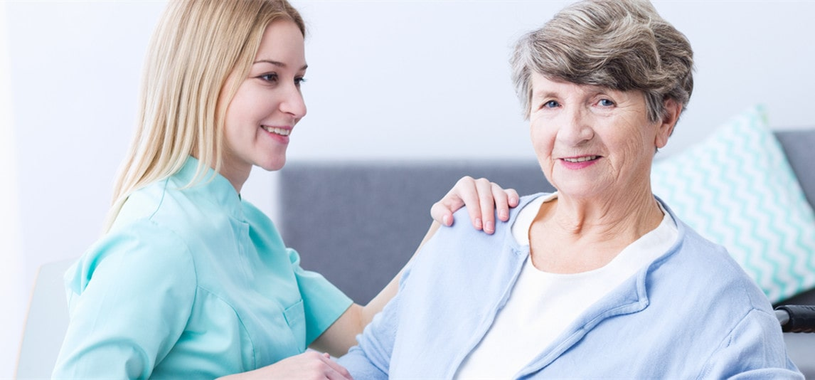 become a nurse for aged people