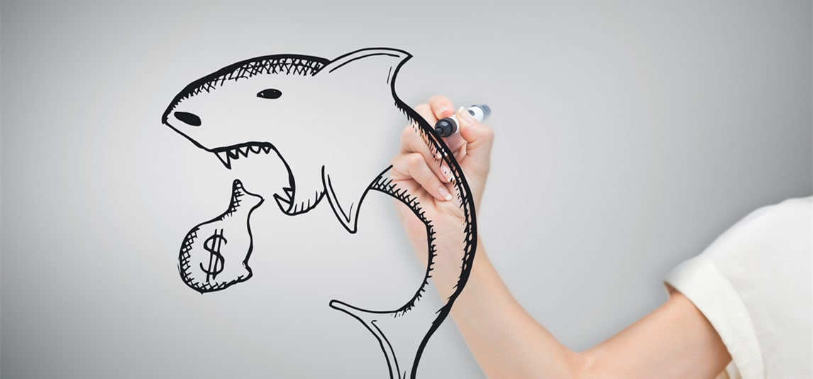 avoid loan sharks when applying business loan