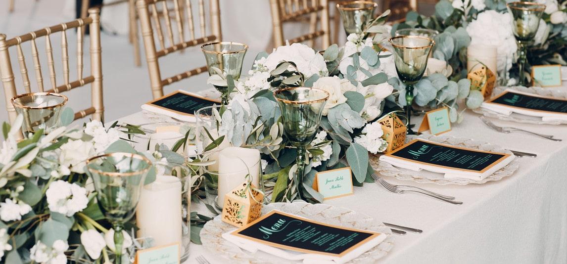 wedding table decore trends